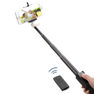 Selfie Stick with Wireless Remote Shutter Control - Black