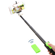 Selfie Stick with Wireless Remote Shutter Control - Green