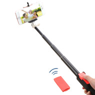 Selfie Stick with Wireless Remote Shutter Control - Red