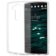 Rubberized Crystal Case for LG V10 - Clear