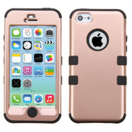 Military Grade Certified TUFF Hybrid Case for iPhone 5C - Rose Gold