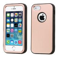 Verge Hybrid Case for iPhone SE / 5S / 5 - Rose Gold
