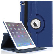 *SALE* 360 Degree Smart Rotating Leather Case for iPad Mini 4 - Navy Blue