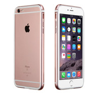 Hybrid Aluminum Bumper Protector Cover for iPhone 6 Plus / 6S Plus - Rose Gold