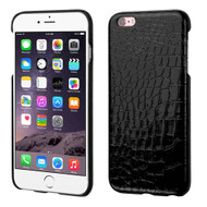 Crocodile Skin Executive Back Protector Cover for iPhone 6 Plus / 6S Plus - Black