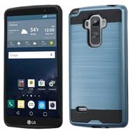 Brushed Hybrid Armor Case for LG G Stylo / Vista 2 - Ink Blue