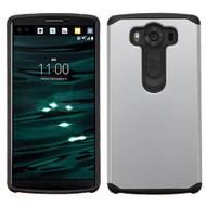 Hybrid Multi-Layer Armor Case for LG V10 - Silver