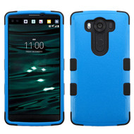 Military Grade Certified TUFF Hybrid Case for LG V10 - Blue