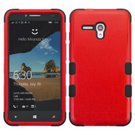 *Sale* Military Grade TUFF Hybrid Case for Alcatel OneTouch Fierce XL - Red