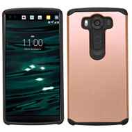 Hybrid Multi-Layer Armor Case for LG V10 - Rose Gold