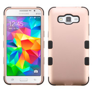 Military Grade Certified TUFF Hybrid Case for Samsung Galaxy Grand Prime - Rose Gold