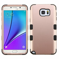 *SALE* Military Grade TUFF Hybrid Case for Samsung Galaxy Note 5 - Rose Gold