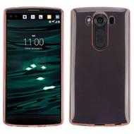 Rubberized Crystal Case for LG V10 - Rose Gold