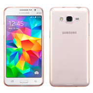 Rubberized Crystal Case for Samsung Galaxy Grand Prime - Rose Gold