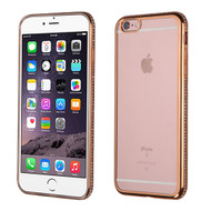 Electroplating Diamond TPU Case for iPhone 6 Plus / 6S Plus - Gold