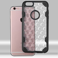 Challenger Honeycomb Hybrid Case for iPhone 6 Plus / 6S Plus - Black