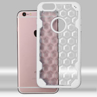 Challenger Honeycomb Hybrid Case for iPhone 6 Plus / 6S Plus - White