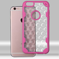 Challenger Honeycomb Hybrid Case for iPhone 6 Plus / 6S Plus - Hot Pink