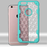 Challenger Honeycomb Hybrid Case for iPhone 6 Plus / 6S Plus - Teal