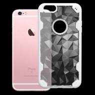 Challenger Polygon Hybrid Case for iPhone 6 Plus / 6S Plus - White