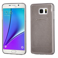 Sparkling Frost Candy Skin Cover for Samsung Galaxy Note 5 - Smoke