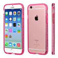 AquaFlex Diamond Fusion Case for iPhone 6 / 6S - Hot Pink