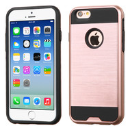 Brushed Hybrid Armor Case for iPhone 6 / 6S - Rose Gold