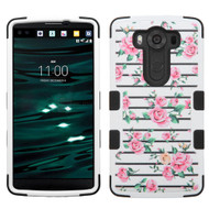 Military Grade Certified TUFF Image Hybrid Case for LG V10 - Fresh Roses