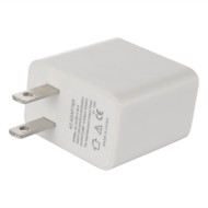 Universal USB Travel AC Wall Charger 2.1A - White