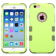 *Sale* Military Grade Macaroon Color TUFF Hybrid Case for iPhone 6 / 6S - Green Tea Olive