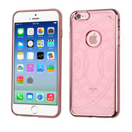 ECHO Electroplated Premium Candy Skin Cover for iPhone 6 / 6S - Rose Gold 304