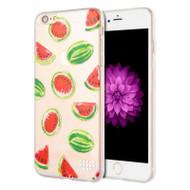 *Sale* Graphic Rubberized Protective Gel Case for iPhone 6 Plus / 6S Plus - Watermelon
