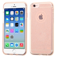 Premium Sparkling Frost Candy Skin Cover for iPhone 6 / 6S - Rose Gold