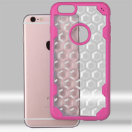 Challenger Honeycomb Hybrid Case for iPhone 6 / 6S - Hot Pink