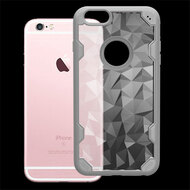 Challenger Polygon Hybrid Case for iPhone 6 / 6S - Grey