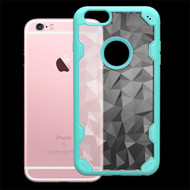 Challenger Polygon Hybrid Case for iPhone 6 / 6S - Teal