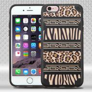 DefyR Graphic Hybrid Case for iPhone 6 Plus / 6S Plus - Leopard Zebra