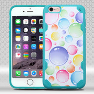 DefyR Graphic Hybrid Case for iPhone 6 Plus / 6S Plus - Rainbow Bubbles
