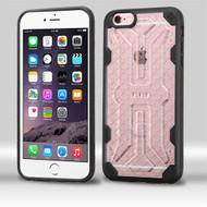 DefyR Hybrid Case for iPhone 6 Plus / 6S Plus - Clear Black