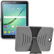 *Sale* Shockproof Armor Kickstand Case for Samsung Galaxy Tab S2 9.7 - Grey