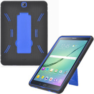 *Sale* Explorer Impact Armor Kickstand Hybrid Case for Samsung Galaxy Tab S2 9.7 - Black Blue