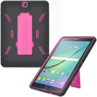 *Sale* Explorer Impact Armor Kickstand Hybrid Case for Samsung Galaxy Tab S2 9.7 - Black Hot Pink