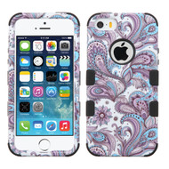 *SALE* Military Grade TUFF Image Hybrid Case for iPhone SE / 5S / 5 - Persian Paisley