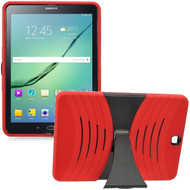 *Sale* Shockproof Armor Kickstand Case for Samsung Galaxy Tab S2 9.7 - Red