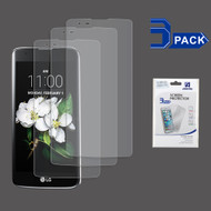 Crystal Clear Screen Protector for LG K7 / Treasure LTE / Tribute 5 - 3 Pack