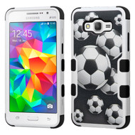 *Sale* Military Grade TUFF Image Hybrid Case for Samsung Galaxy Grand Prime - Soccer Ball