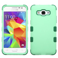 Military Grade Certified TUFF Hybrid Case for Samsung Galaxy Grand Prime - Mint Forest Green