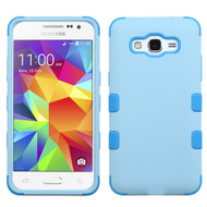 Military Grade Certified TUFF Hybrid Case for Samsung Galaxy Grand Prime - Blueberry Baby Blue