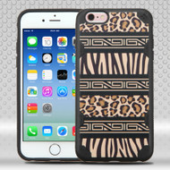DefyR Graphic Hybrid Case for iPhone 6 / 6S - Leopard Zebra