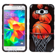 *SALE* Military Grade TUFF Image Hybrid Case for Samsung Galaxy Grand Prime - Basketball Hoop
